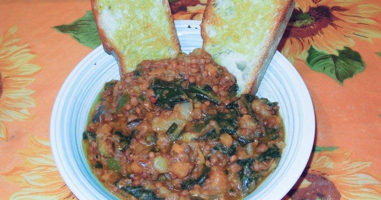 Zuppa di verdure cotta nel coccio