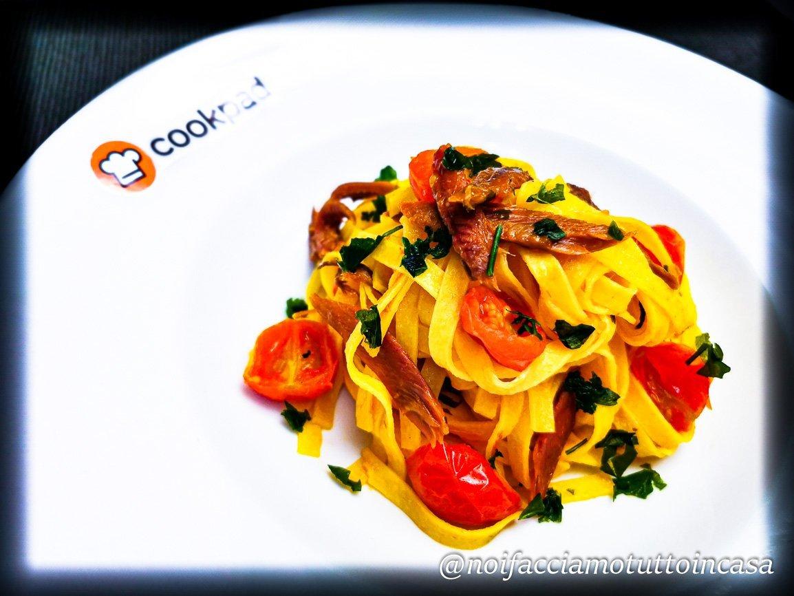 Tagliolini al Missoltino (specialità tipica del lago di Como)