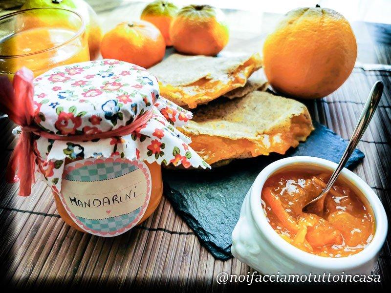 Marmellata di mandarini facile