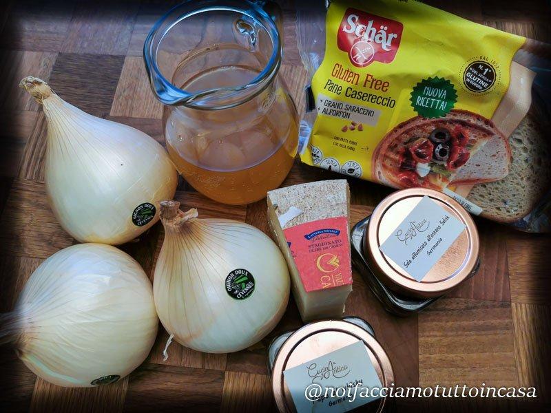 Zuppa di Cipolle Gratinata al Forno
