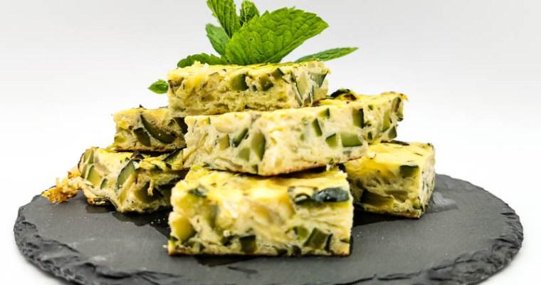 Frittata di Zucchine e Cipolle al profumo di Menta