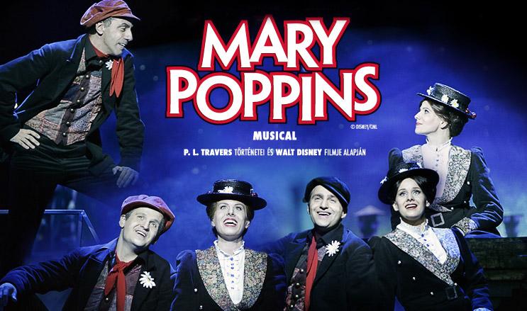 Színdarab ajánló: Mary Poppins - Madách Színház