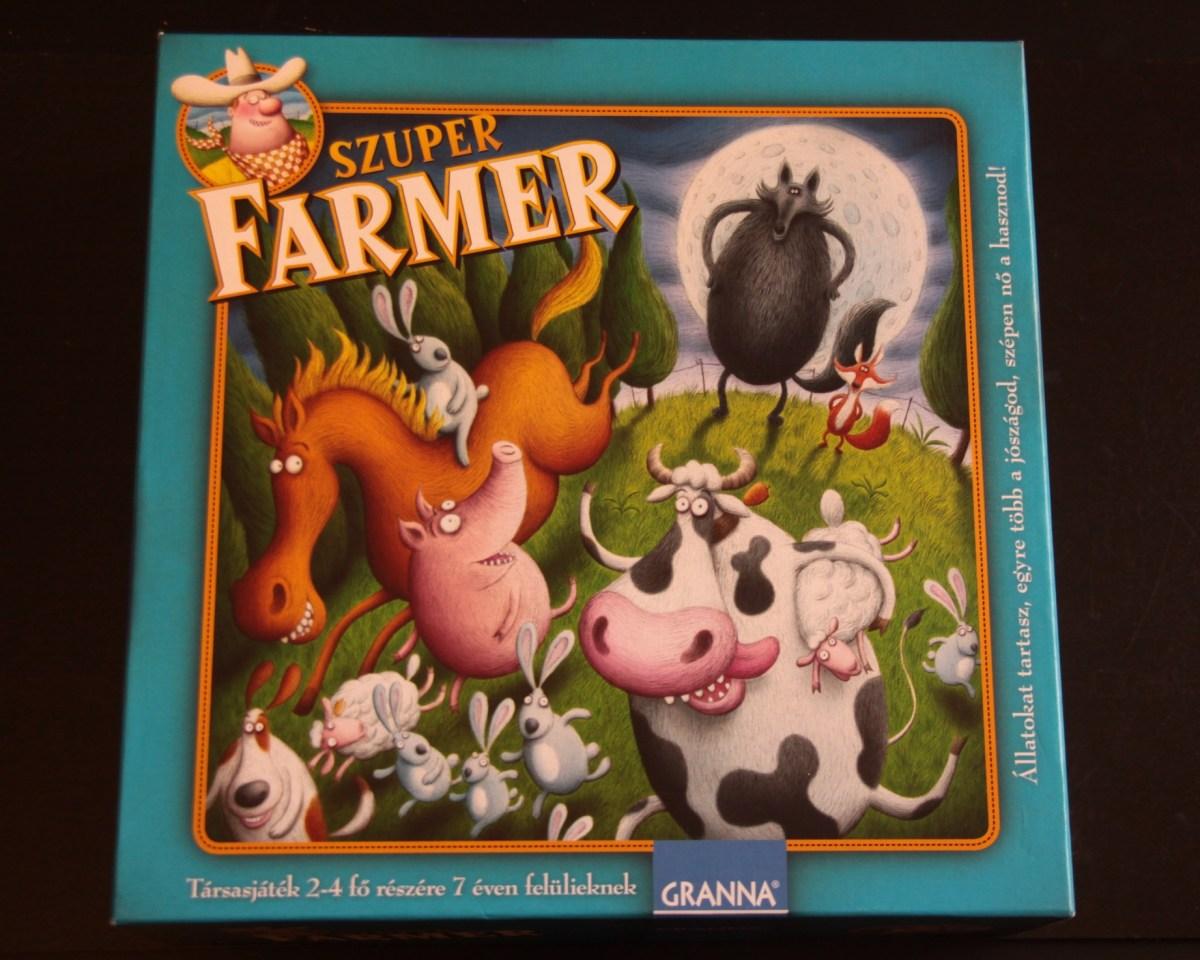 Társasjáték teszt: Granna Szuper Farmer Extra