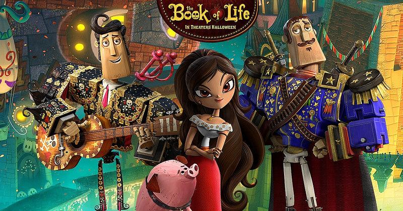 A saját történetedet te írod - Az élet könyve, ami szintén egy remek rajzfilm a mexikói halottak napjáról