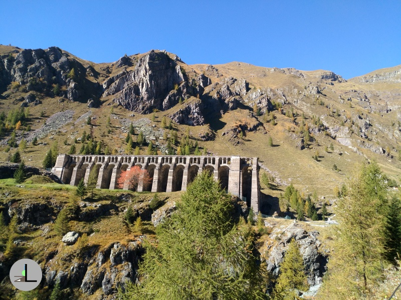 The Gleno dam: Val di Scalve