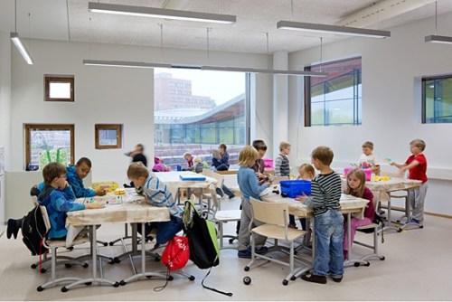 Aula di una scuola finlandese