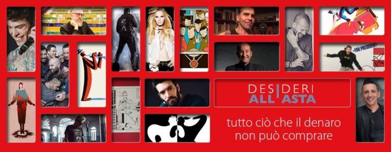 Il terzo lotto di Desideri all'asta di LILT Milano su ebay.it fino al 17 dicembre