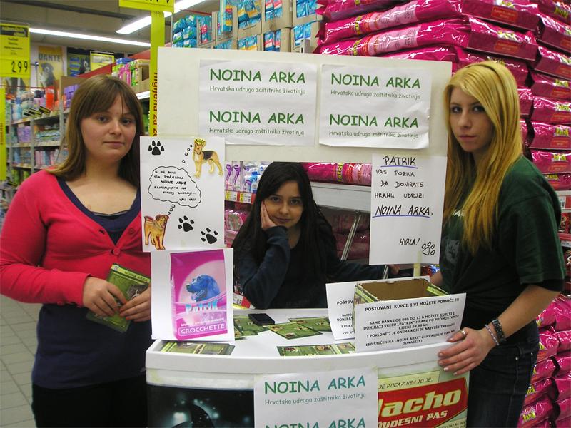 Zajednička promocija tvrtki Kaufland, Farmamed te Udruga za zaštitu životinja