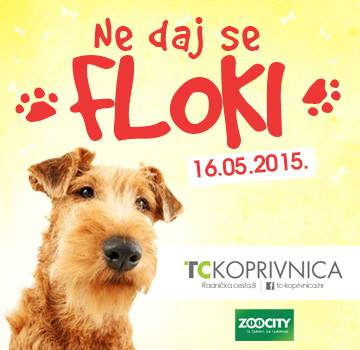 """""""Ne daj se Floki"""" - štand u Koprivnici"""