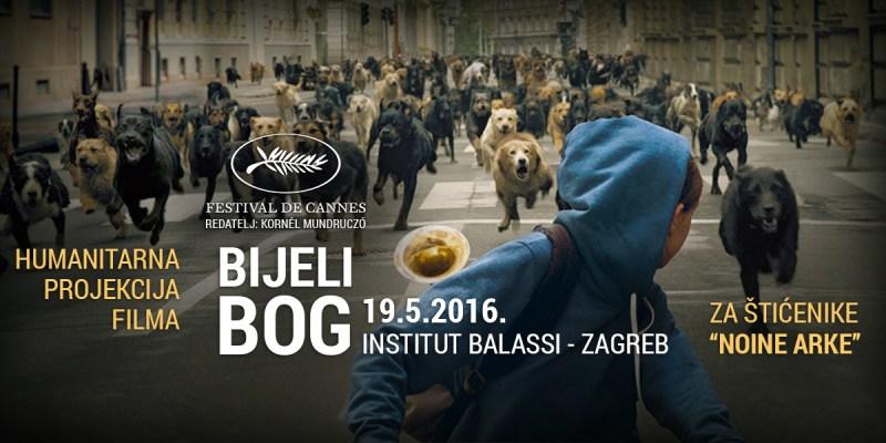 """19.5. - humanitarna projekcija filma """"Bijeli Bog"""""""