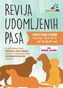RevijaUdomljenihPasa_Utrine_plakat