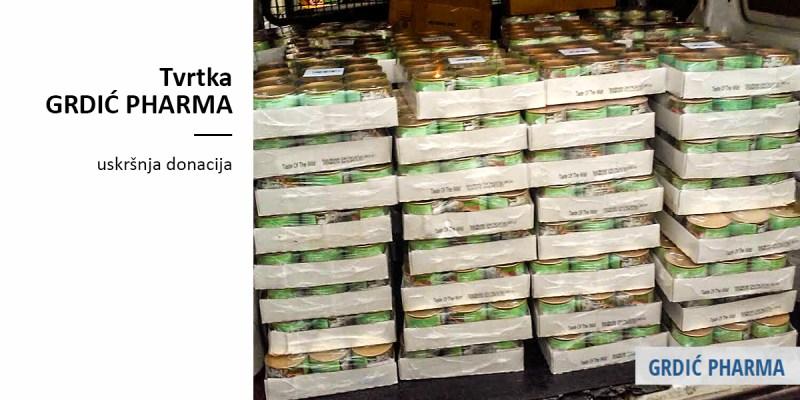 Velika donacija tvrtke GRDIĆ PHARMA