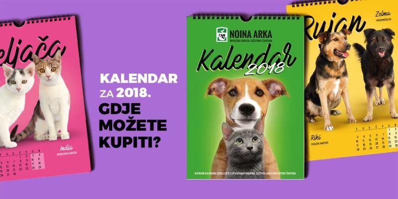 Kalendar 2018. - prodajna mjesta