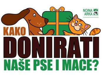 Kako donirati naše pse i mace?
