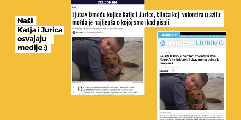 Naši Katja i Jurica osvajaju medije :)