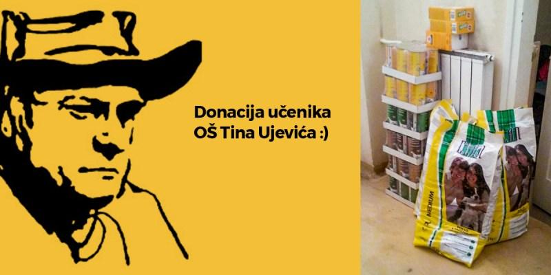 Donacija učenika OŠ Tina Ujevića :)