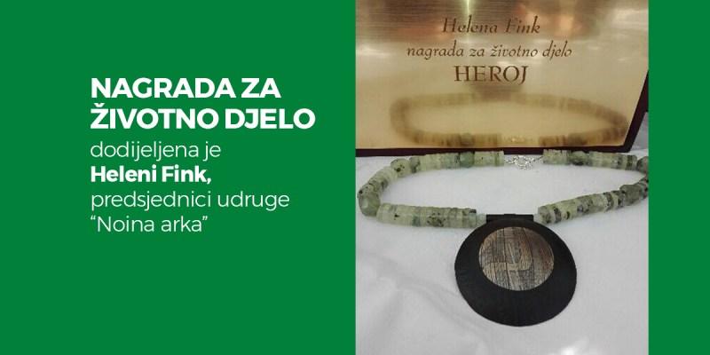 Helena Fink - Nagrada za životno djelo!