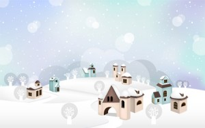 villaggio-neve-Kyuree-Dreamstime