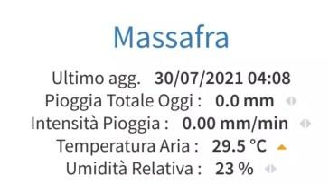 Puglia: in zone di barese, brindisino e tarantino altra notte a trenta gradi Caldo incessante, verso il superamento dei quaranta anche oggi