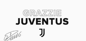 Cristiano Ronaldo ringrazzia la Juventus Oggi il passaggio al Manchester United