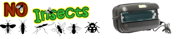www.noinsects.com.au Website Banner and Logo