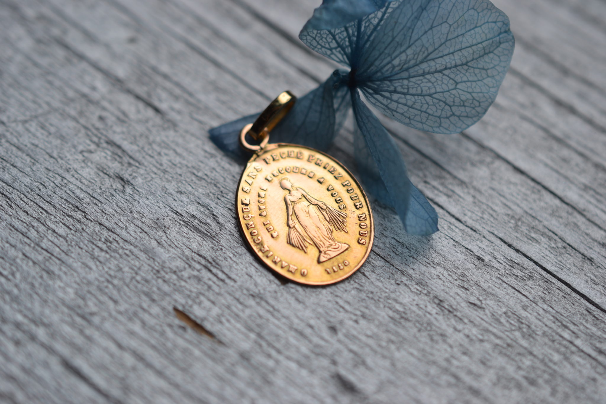 Médaille Miraculeuse Or
