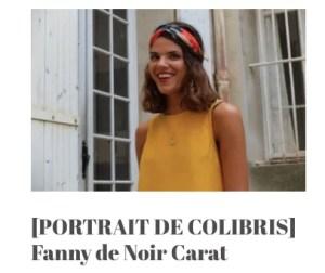 Fanny Robert Noir Carat