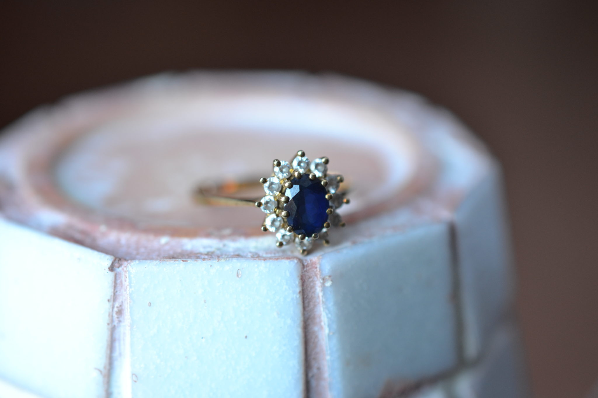 Bague Marguerite Pierres