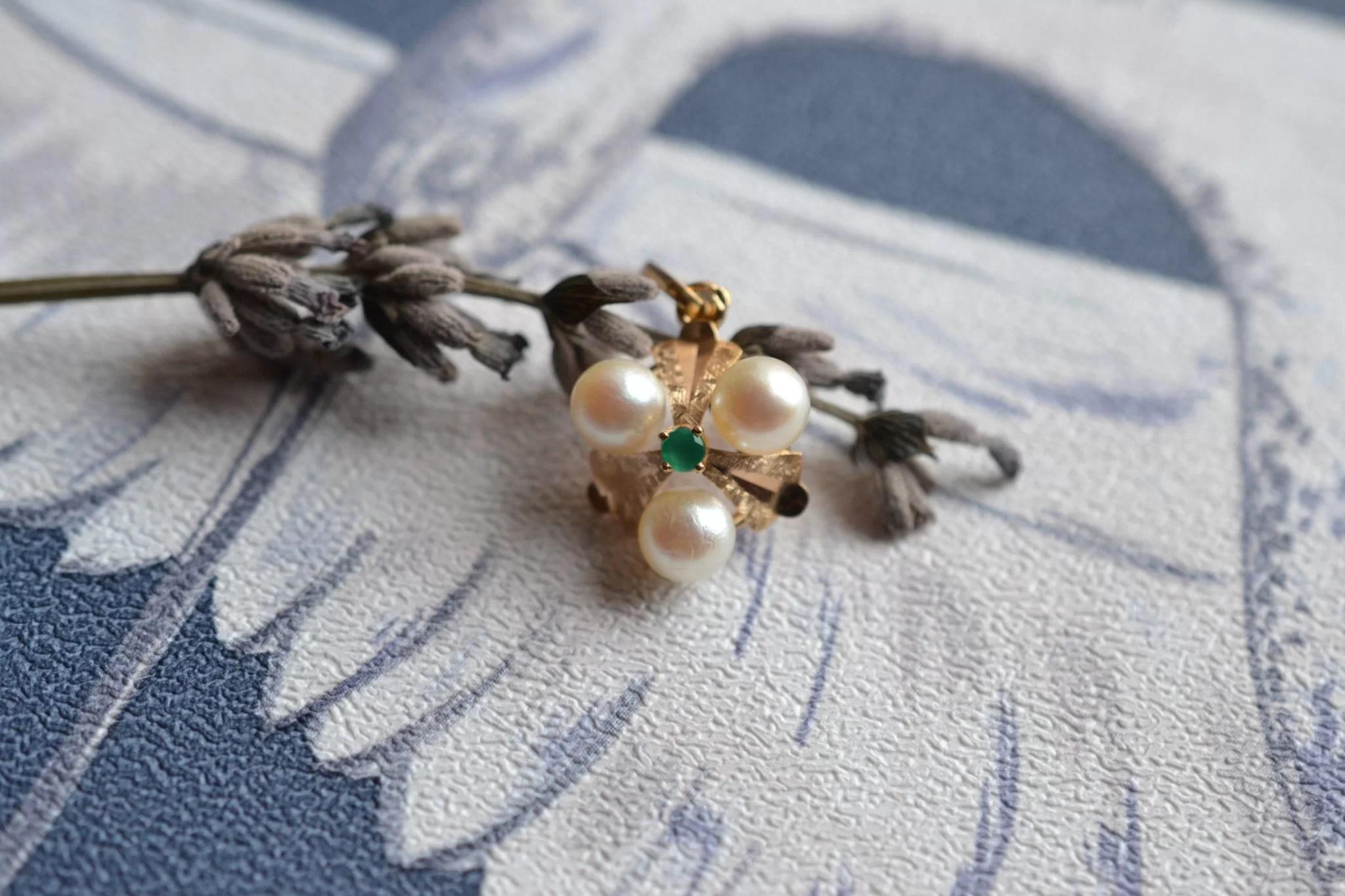 Pendentif Perles