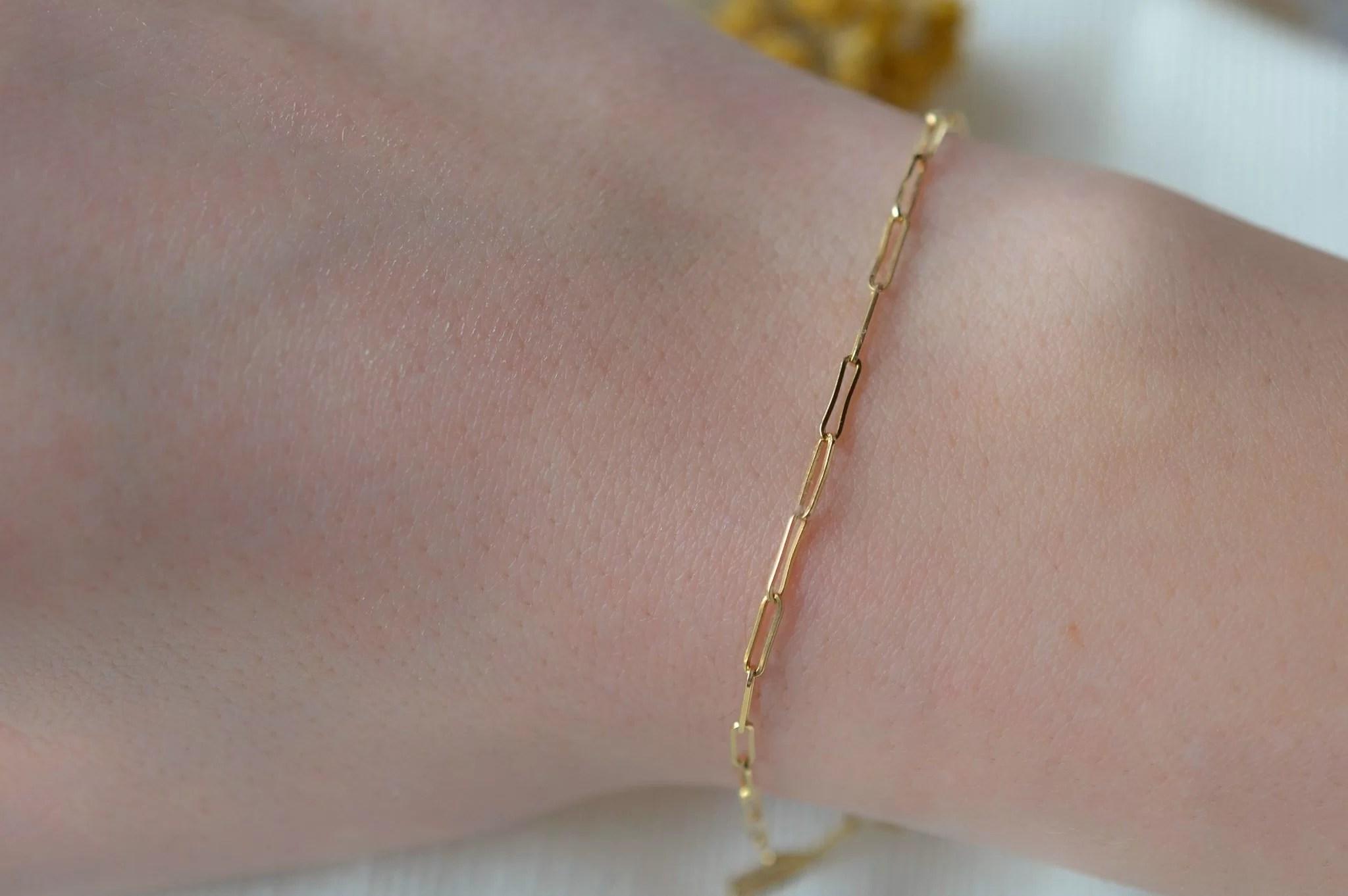Bracelet maille en Or jaune - bijou de seconde main