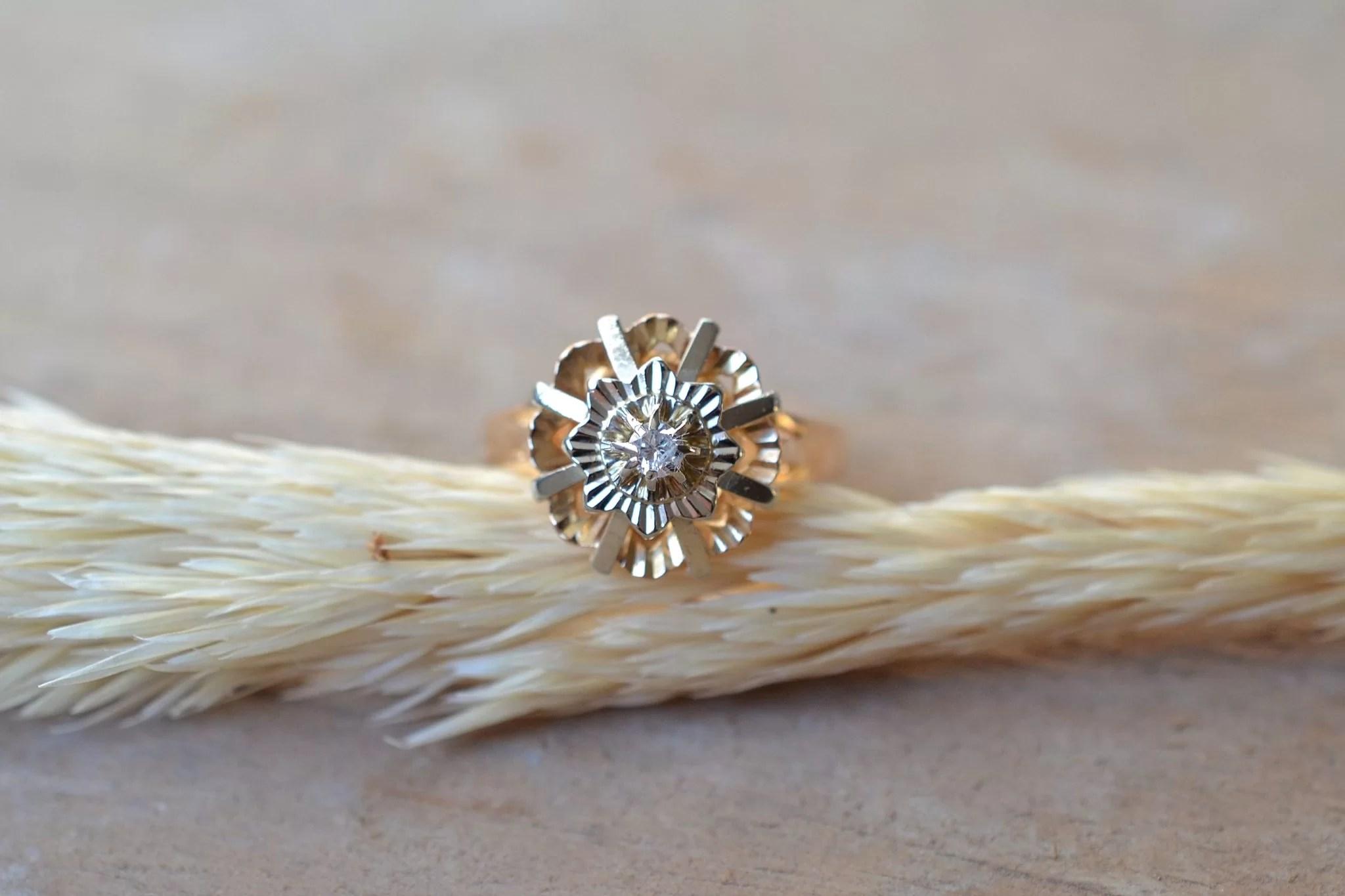Bague Circulaire Diamant