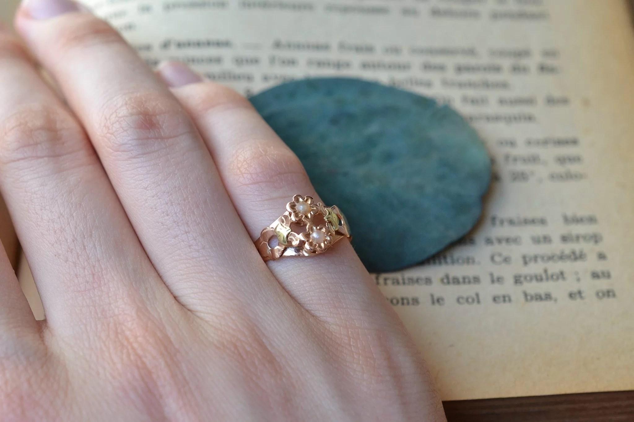 bague-art-nouveau-deux-ors-18-carats-bijou-ecoresponsable
