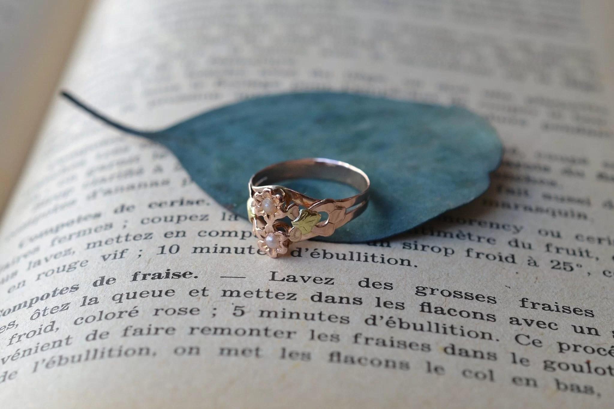 bague-art-nouveau-deux-ors-18-carats-bijou-vintage