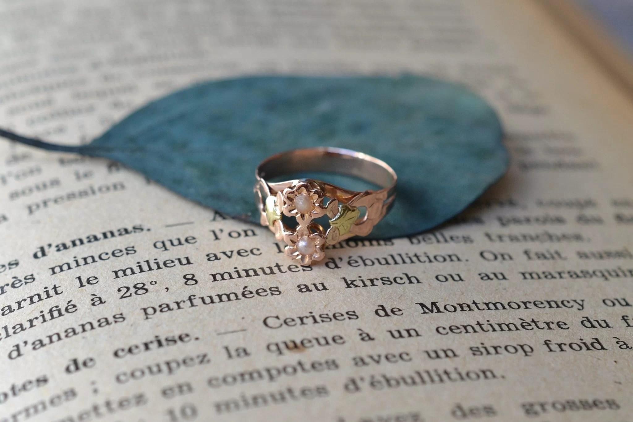 bague-art-nouveau-deux-ors-bijou-18-carats
