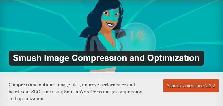 Wp-smush Ottimizzazione WordPress veloce