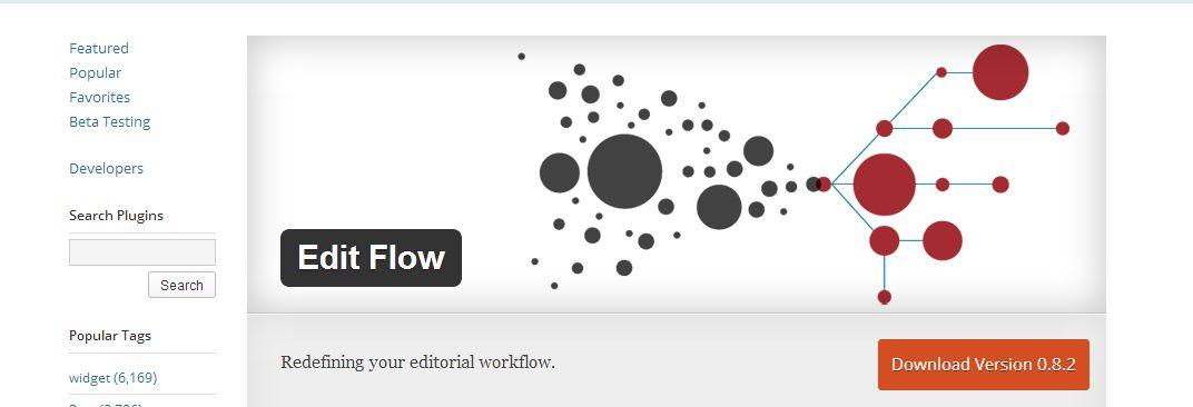 Edit Flow plugin per creare comunicati stampa