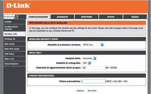 Modem d-link come craccare una rete wireless