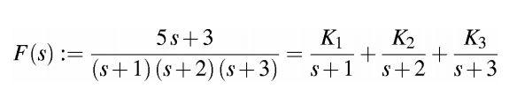 Anti trasformata di Laplace funzione caratteristica