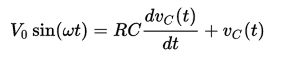 Circuito RC regime sinuosoidale