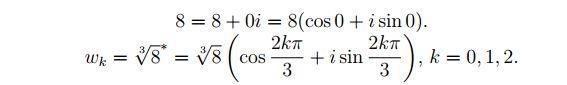Esempio Numeri Complessi