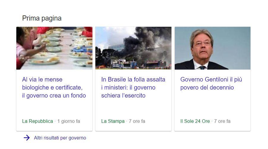 Consigli su Google News