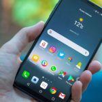 Foto nuovo smartphone LG V30