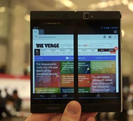 Cellulare Samsung Dual Display Galaxy