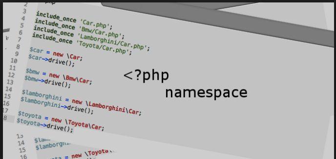 I Namespace in PHP definizione e Esempi