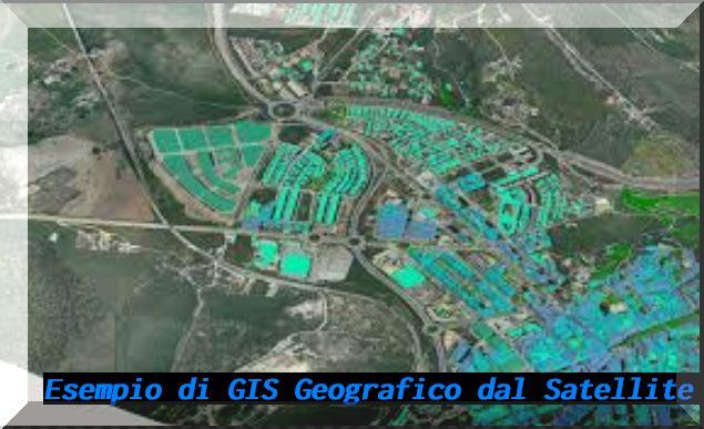 GIS sistema informativo geografico terrestre