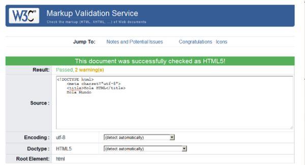Validatore HTML