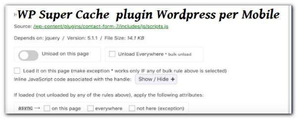 WP Super Cache. Ovviamente anche questo in ambito WordPress si occupa di generare del codice di cache per gli utenti, ma anche di mobile per smartphone e cellulari