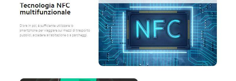 Tecnologia Multifunzionale NFC