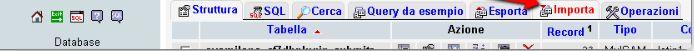 Import file php per migrare nel nuovo sito nel phpadmin del WordPress