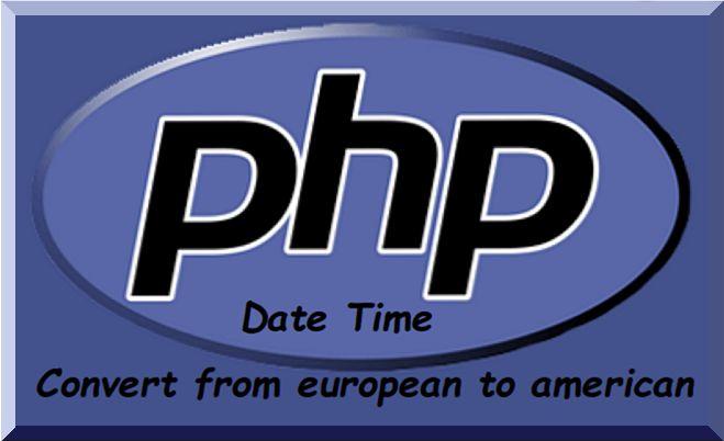 Conversione data da formato europeo a formato americano